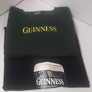 Guinness Beer Tee shirts Lot of 2
